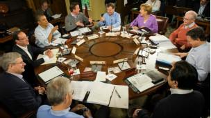 Các nhà lãnh đạo G8 họp thượng đỉnh tại trại David