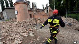 زمینلرزه دیگری شمال ایتالیا را لرزاند