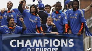 Chelsea saat meraih juara Liga Champions