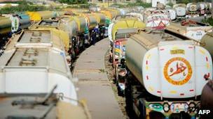 خطوط تدارکاتی از پاکستان