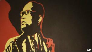 Pintura de Jacob Zuma