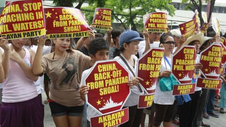 Biểu tình chống Trung Quốc ở Manila