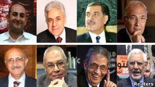 تعدادی از نامزدهای انتخاباتی