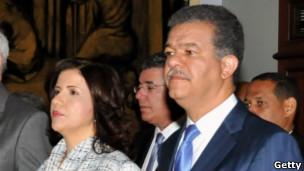 Leonel Fernandez y Margarita Cedeño