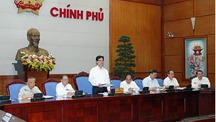 Chính phủ lắng nghe các cựu lãnh đạo (Ảnh của website chính phủ)