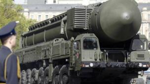 روسيا تختبر صاروخا سريا بعد انطلاق نظام الدرع الصاروخي 120523141223_rocket_304x171_reuters_nocredit