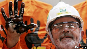 Lula e a Petrobras. Reuters