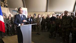 رئیس جمهوری فرانسه در کاپیسا