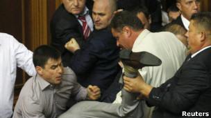 Бійка у парламенті