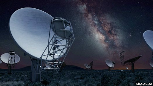 Telescopio Karoo Array (Meerkat)