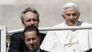 Paolo Gabriele na Papa Benedict