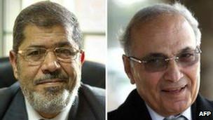 آقای شفیق و مرسی