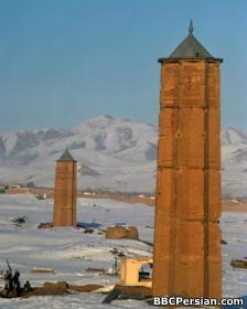 مناره غزنی، از بناهای دوره غزنویان