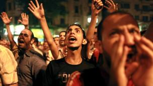 Waandamanaji mjini Cairo, Misri