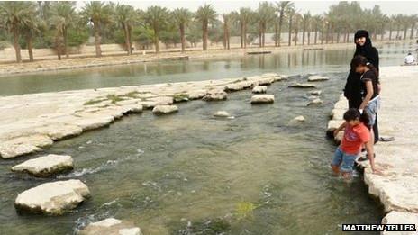 Parque em Riad | Foto: Matthew Teller
