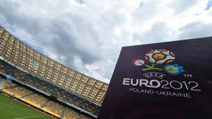 Logo da Eurocopa (Foto AP)