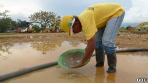Garimpeiro (Foto: João Fellet/BBC Brasil)