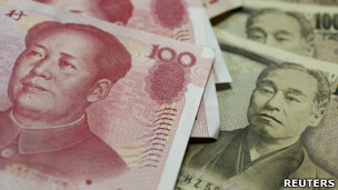 人民币和日元