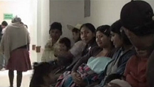 Pacientes en un hospital en A. Latina