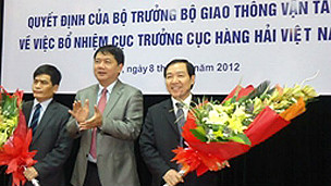 Ông Dương Chí Dũng được bổ nhiệm làm Cục trưởng Hàng Hải