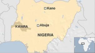 Ramani ya Nigeria