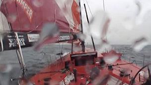 Embarcação estava em alta velocidade (BBC)