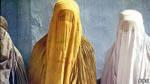 Mulheres afegãs | Foto: BBC