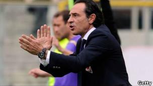 Foto de archivo del seleccionador italiano