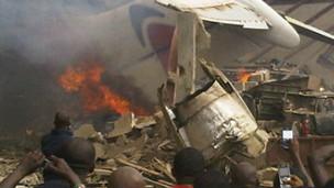 लागोस विमान दुर्घटना