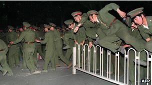 ماموران دولتی در حوادث تیانانمن