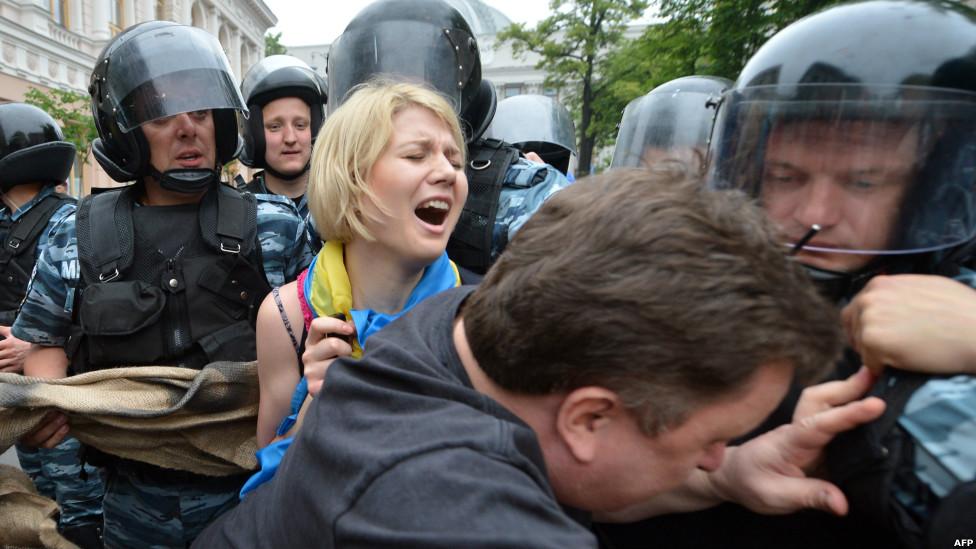 Восстание на юго-востоке Украины 1