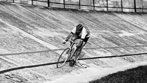 Leon en el velódromo olímpico de Londres. Foto: archivo personal