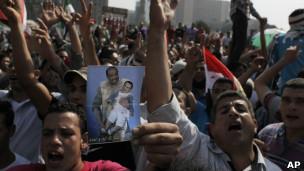 تظاهرکنندگان میدان تحریر