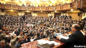 رئیس مجلس مصر