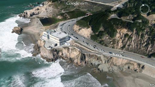 Так в новых картах выглядит Сан-Франциско