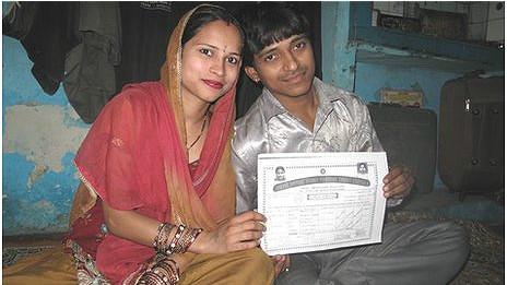 Rajveer y Madhuri.