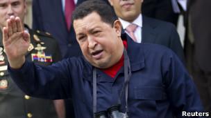 Presidente Hugo Chávez. Foto: Reuters
