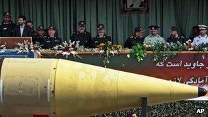 Parada militar no Irã