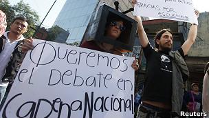 Manifestante del movimiento #YoSoy132