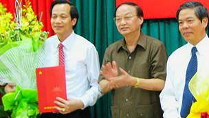 Ông Đào Ngọc Dung khi được bổ nhiệm là bí thư Đảng ủy khối các cơ quan trung ương