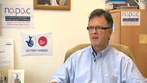 Peter Saunders não acredita na reabilitação destes prisioneiros (BBC)