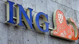 نشان رسمی بانک آی ان جی