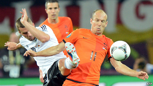 Belanda lawan Jerman