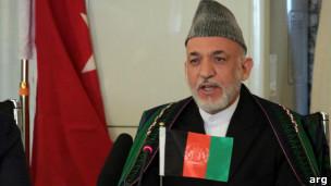 حامد کرزی در نشست کابل