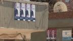 لافتات انتخابية لمرسي وشفيق