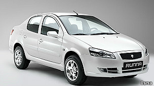 خودروی رانا