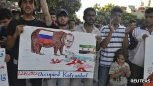 Protesta contra Al Assad
