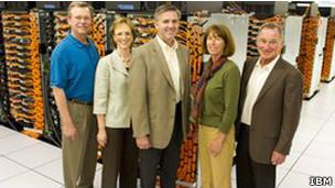 Equipe da IBM | Foto: IBM
