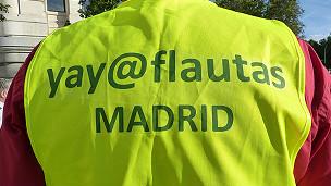Yayoflauta en Madrid Foto: Ángeles Lucas