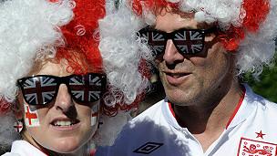 Pendukung sepak bola Inggris
